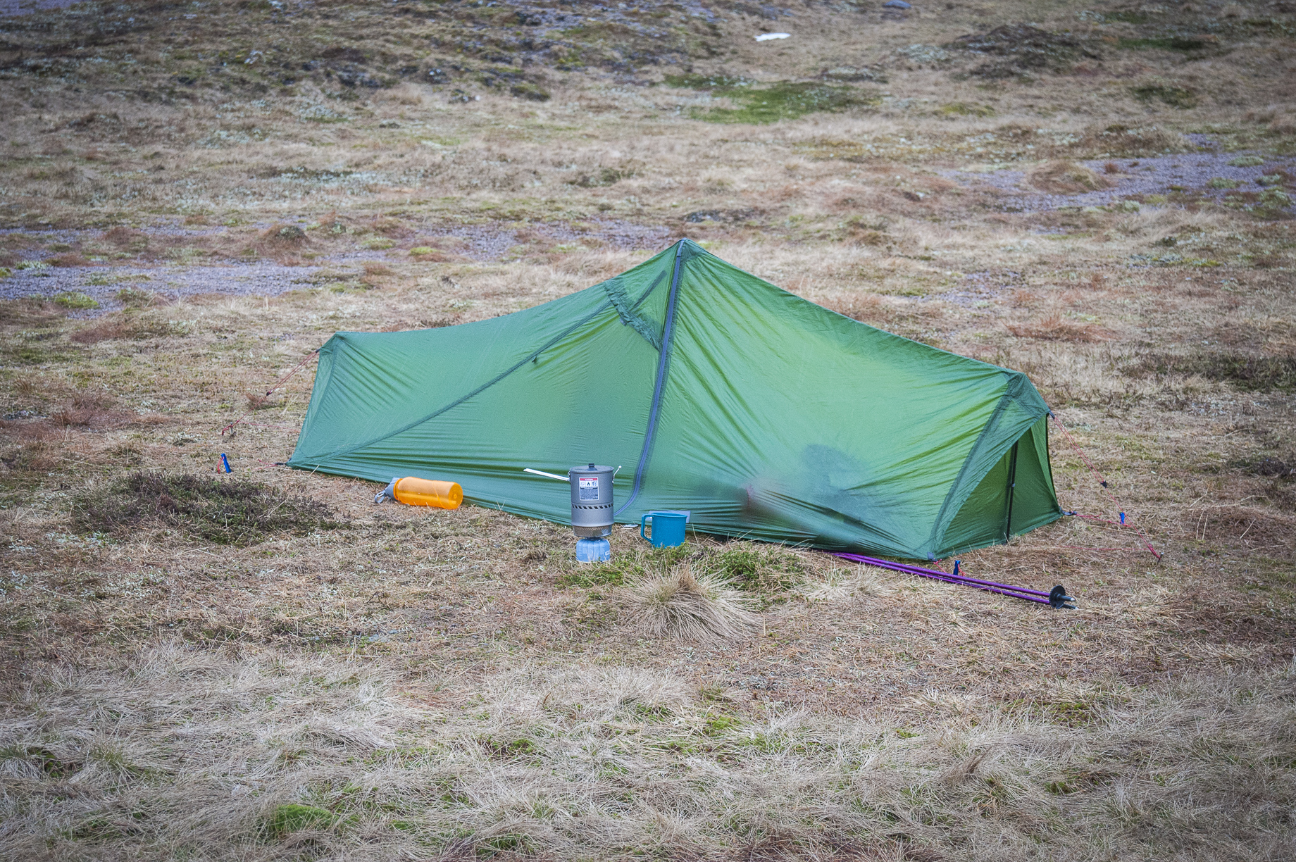 The Lizard GUL is designed to be as light as possible while still remaining recognisable as a double skin tent and itu0027s intended for 3 season use. & Vaude Lizard GUL tent review - Scottish Mountaineer