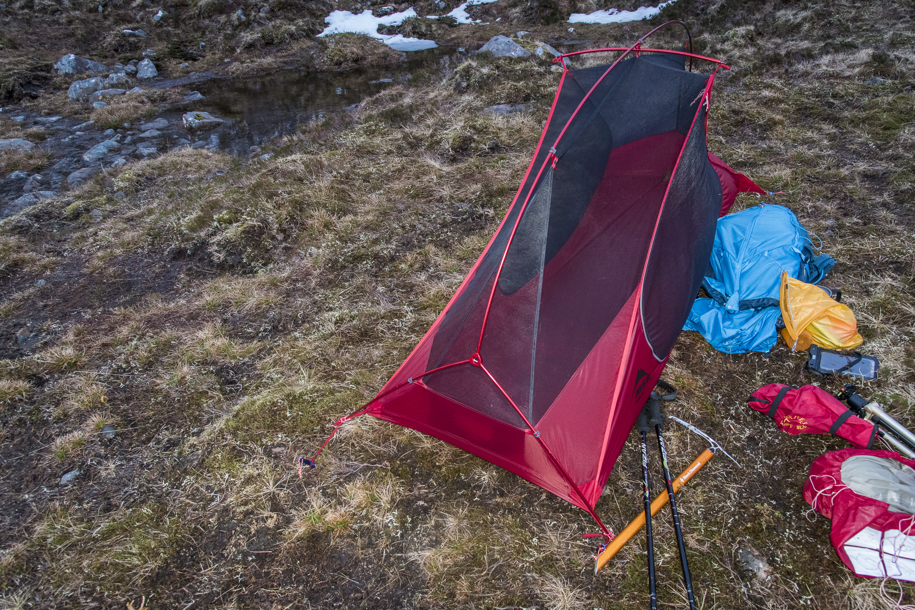 MSR Freelite 1 & MSR Freelite 1 tent review - Scottish Mountaineer