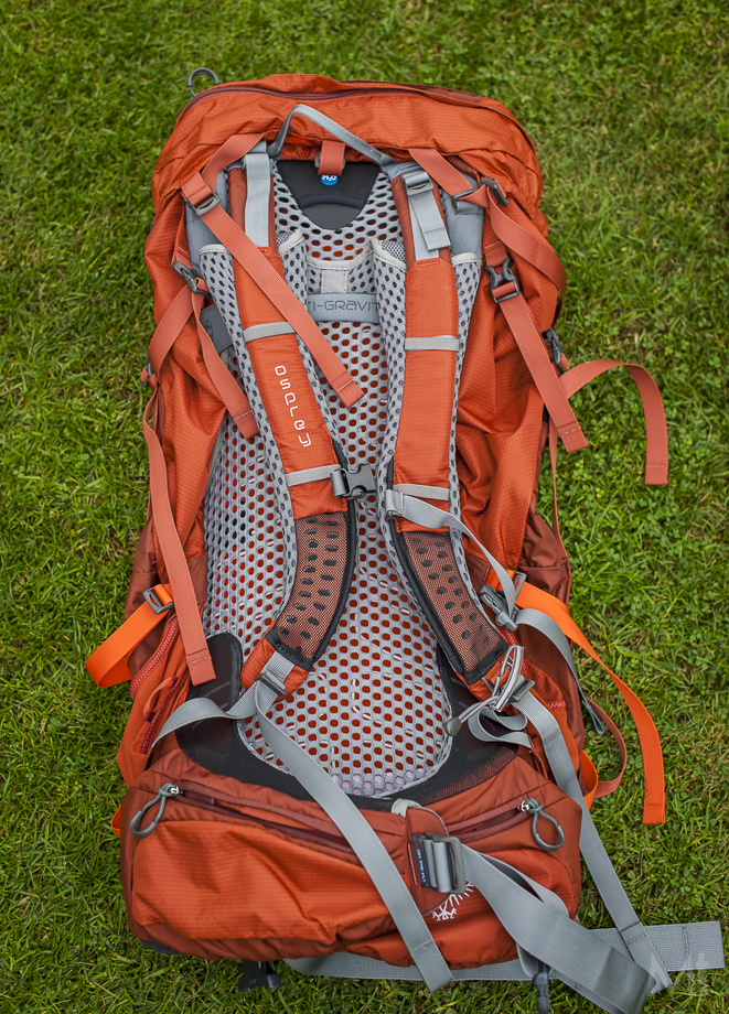 Nye Osprey Atmos AG 65 review - Scottish Mountaineer RN-77